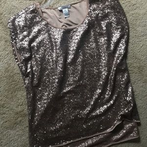 WD. NY sequins Top